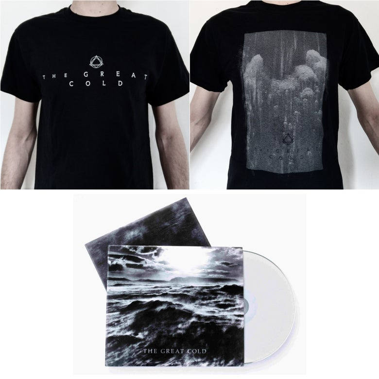 "Image of ""The Great Cold"" Logo Shirt + Glacial Shirt + CD"