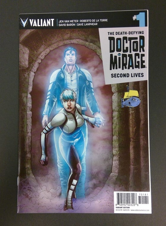Image of Doctor Mirage #1 SSalefish Exclusive COLOR