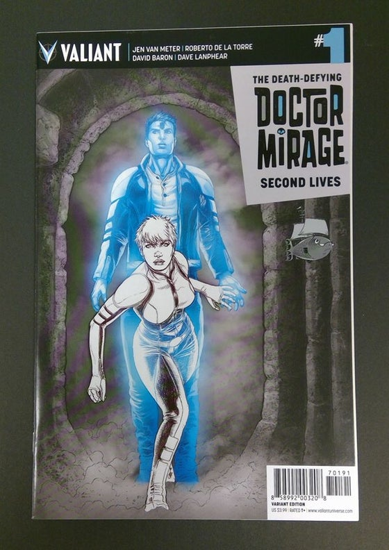 Image of Doctor Mirage #1 Ssalefish Exclusive hidden sketch variant