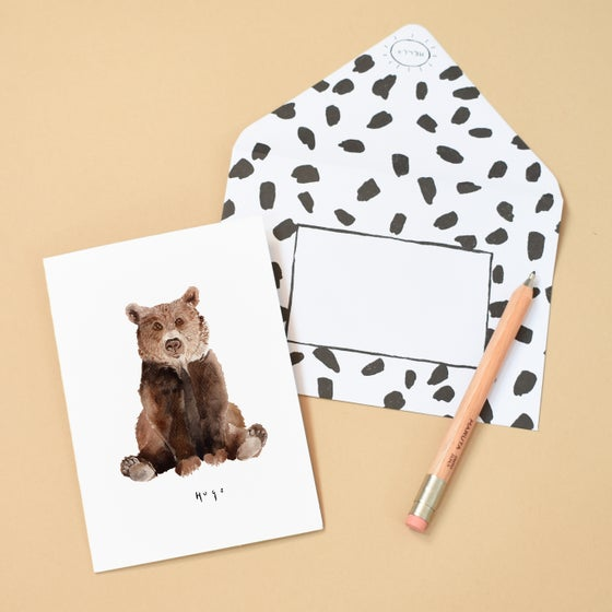 Image of Hugs Bear Greeting Card