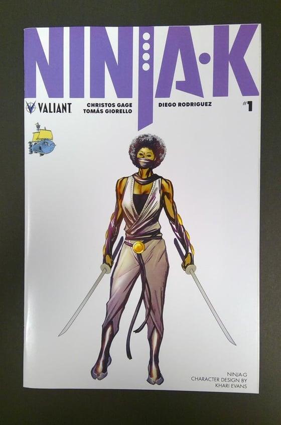 Image of Ninja-K #1 Ssalefish Exclusive Ninja-G variant