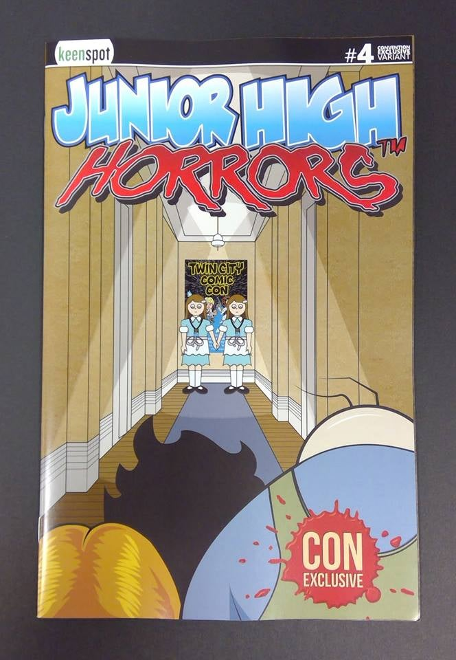 Image of Junior High Horrors #4 Twin City Comic Con Exclusive