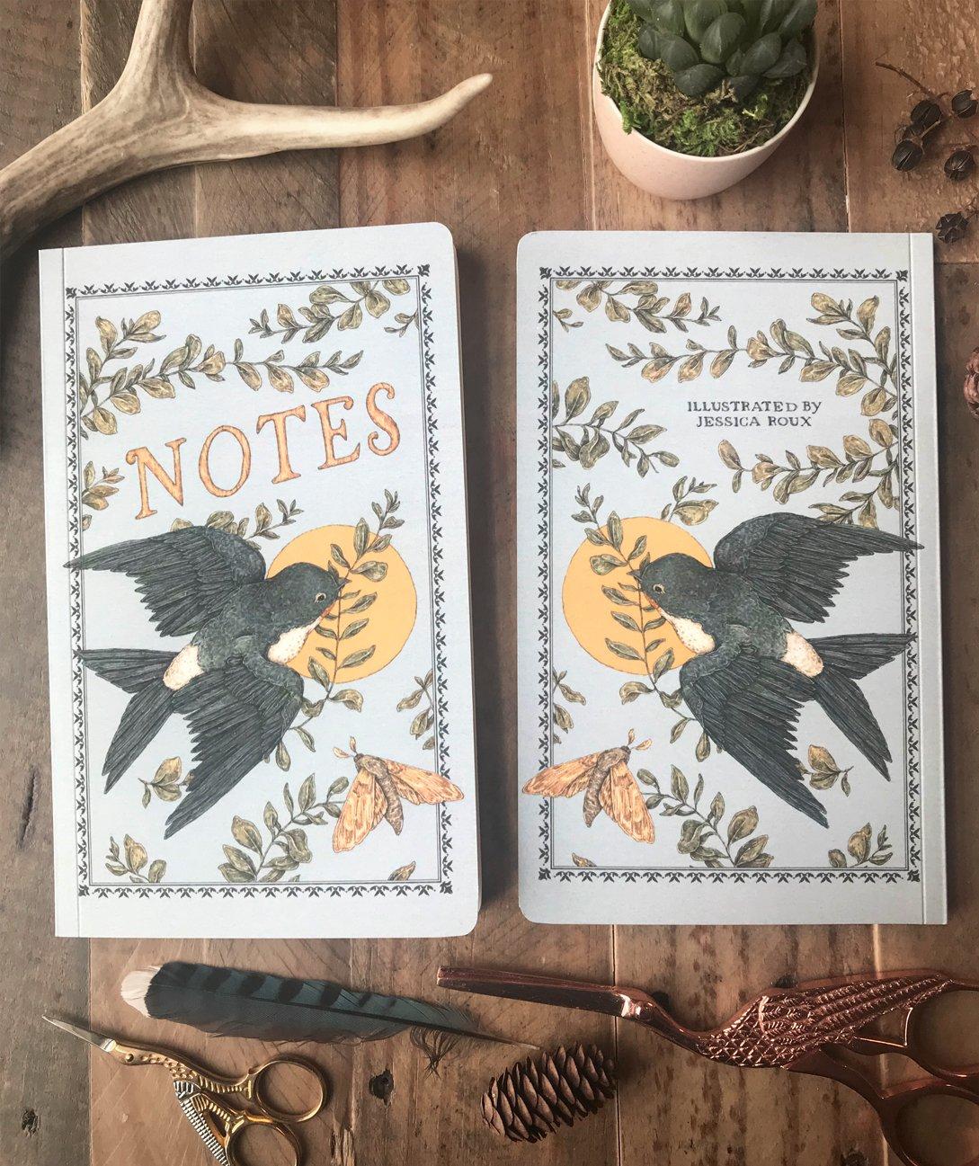 Image of Victorian Bird Notebook