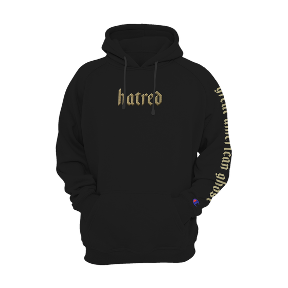 Image of Hatred Embroidered Hoodie