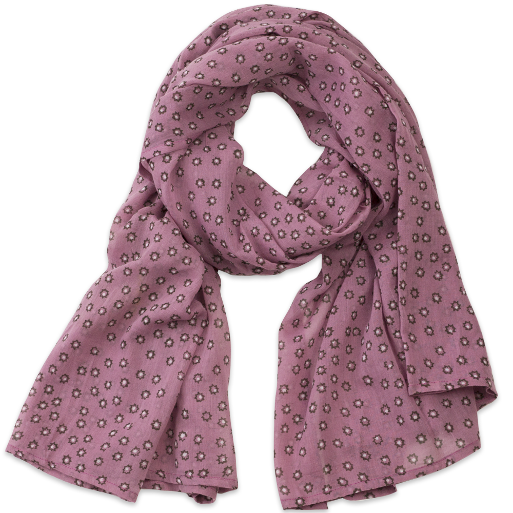 Image of Massa Rose Block Printed Scarf