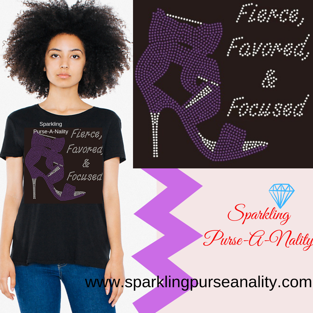 "Image of ""Sparkling"" Fierce, Favored, and Focused"