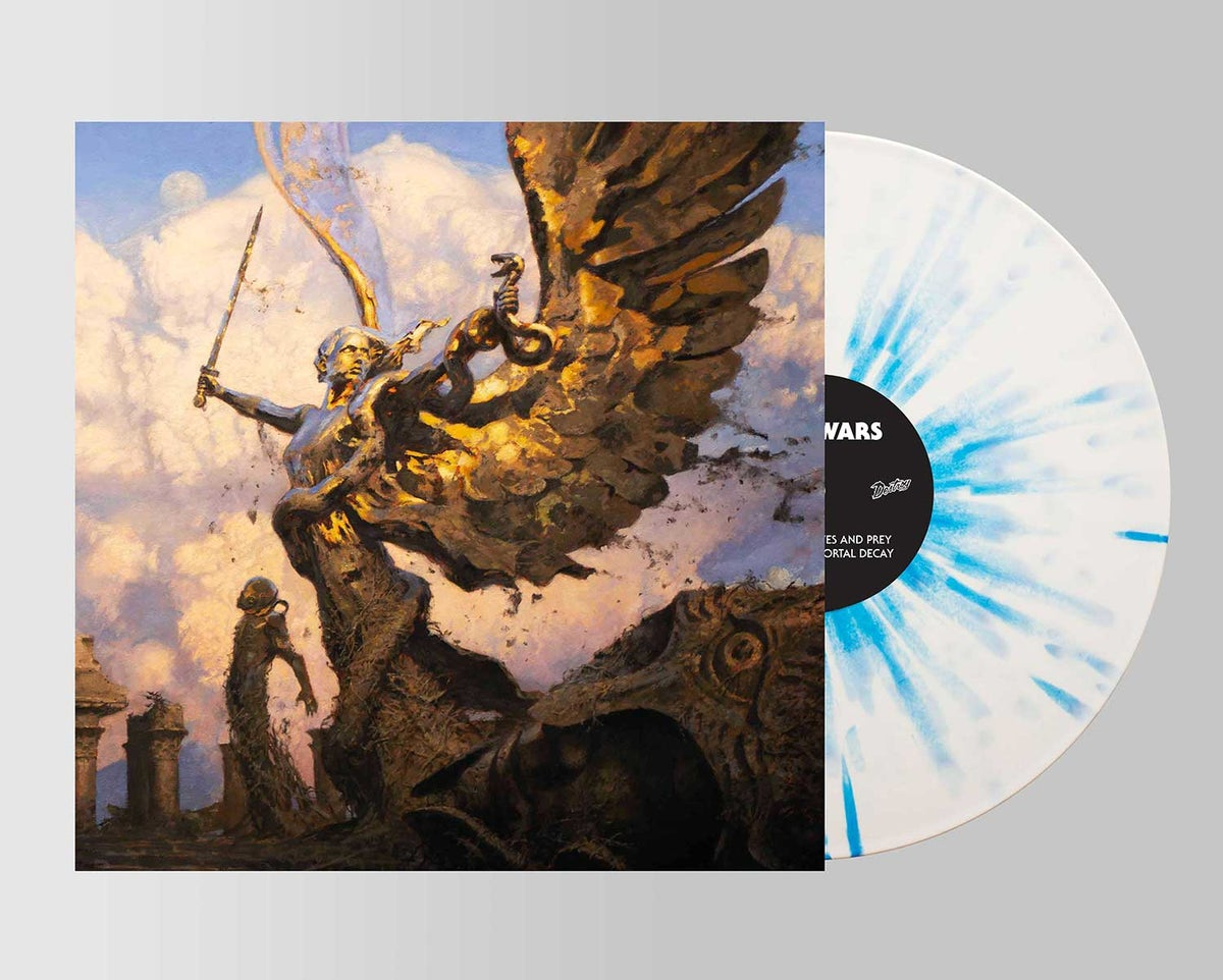Image of IV SPLATTER VINYL (UK/EUROPE CUSTOMERS ONLY) click the BILOCATION RECORDS LINK IN DESCRIPTION TO BUY