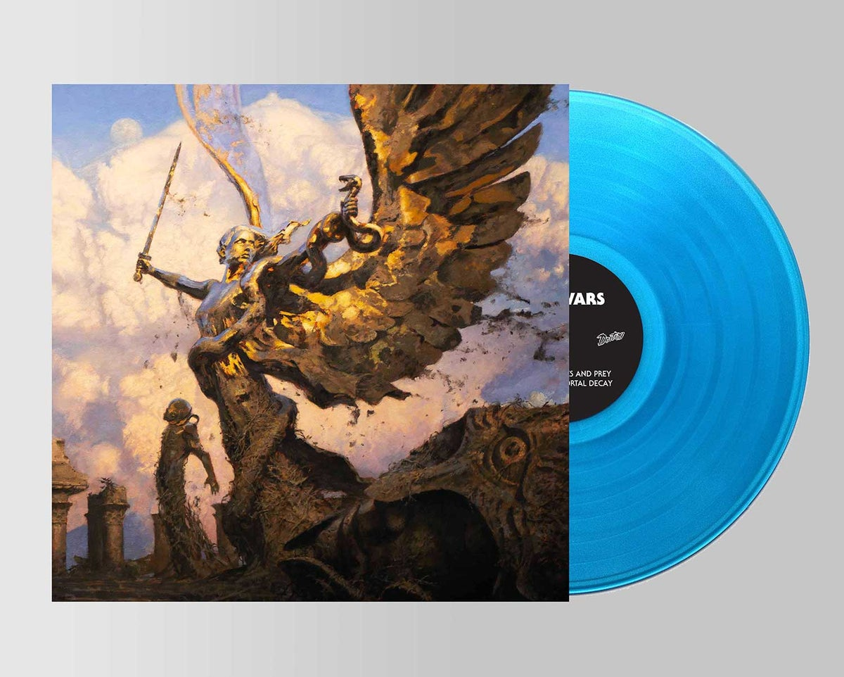 Image of IV VINYL BLUE (limited to 200 copies)