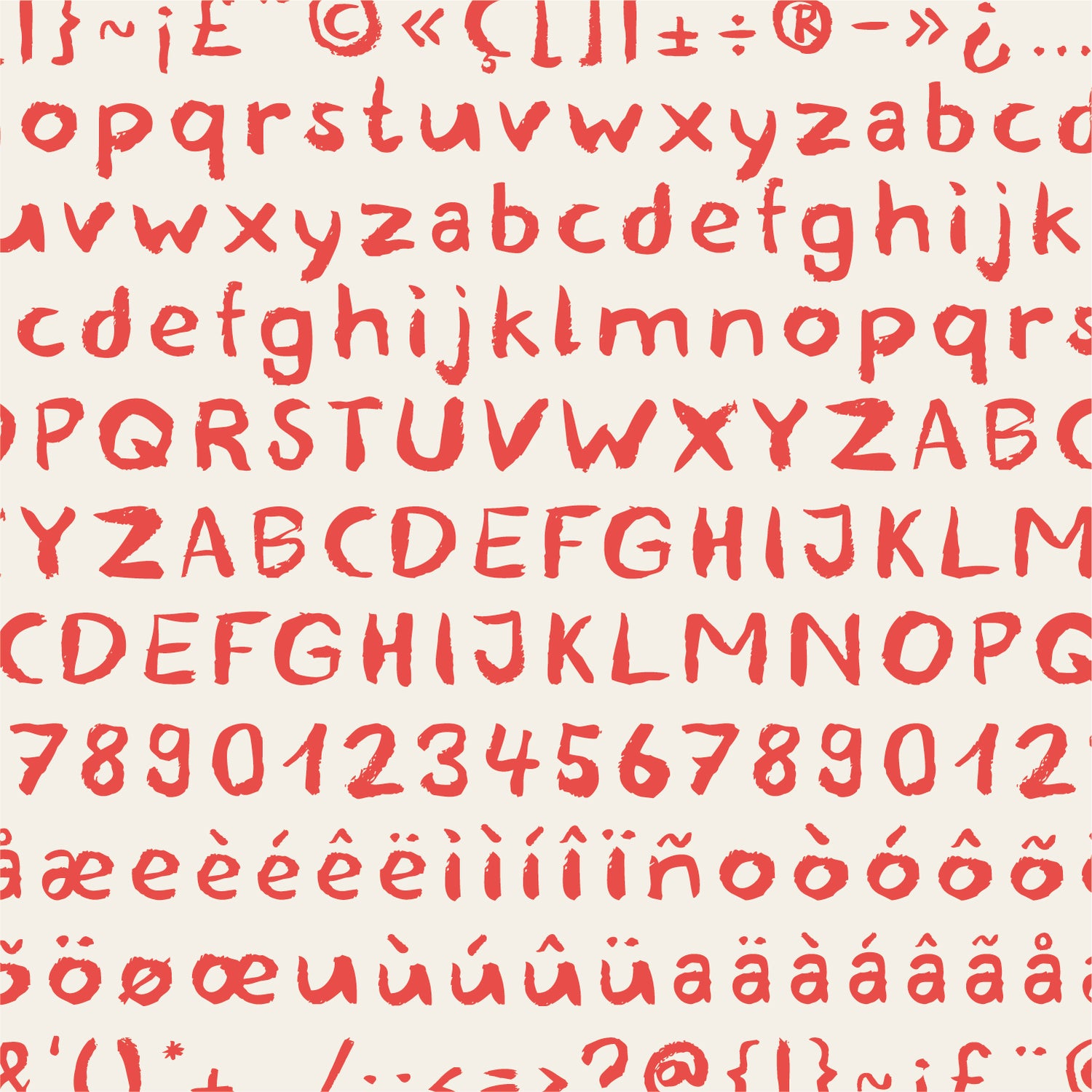 Image of Blemished Typeface – Licence for commercial use