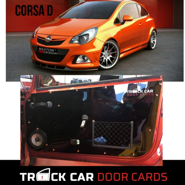 Image of Vauxhall - Corsa D Track Car Door Cards
