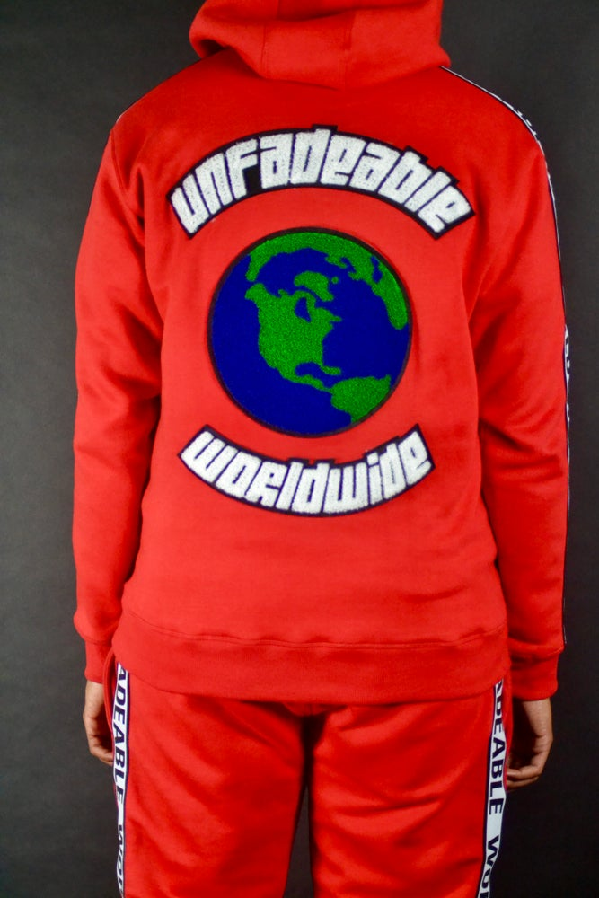 "Image of Unfadeable Worldwide ""The World Is Yours"" Sweatsuit"