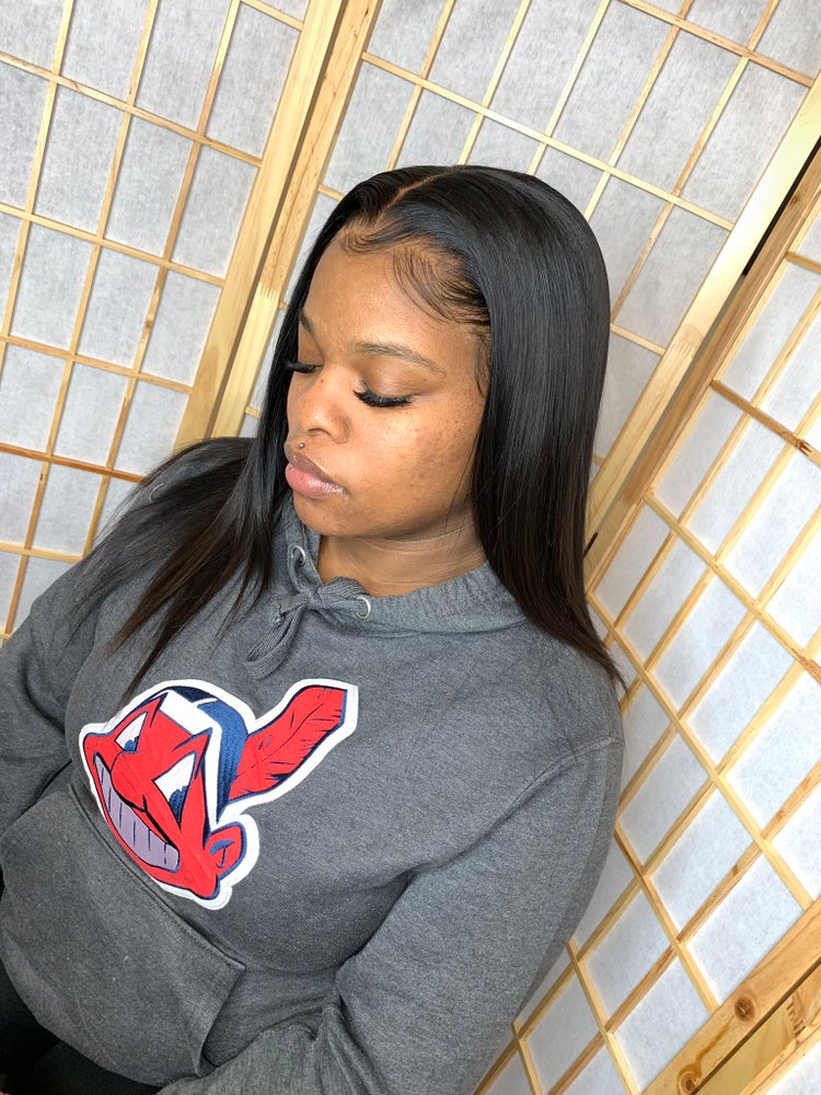 Image of 13*4 raw Indian Straight Lace frontal