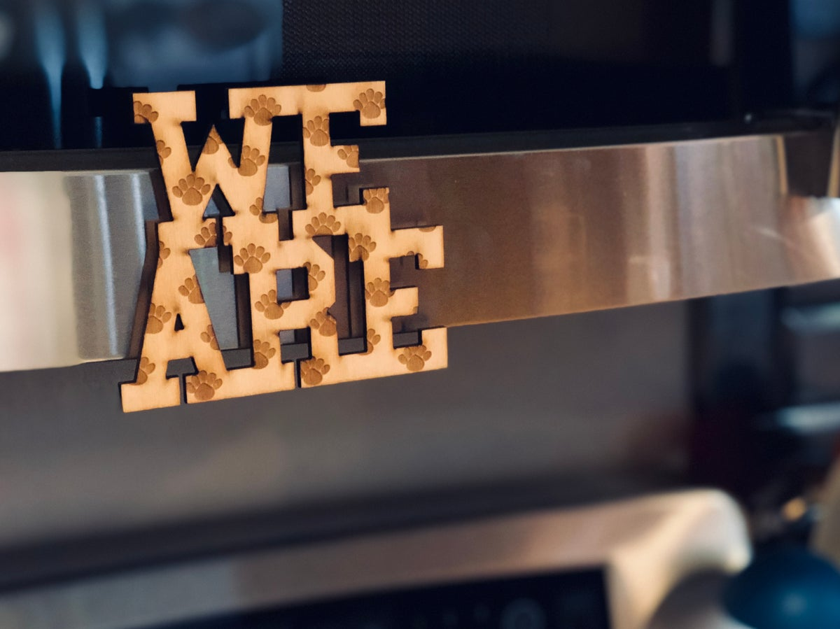 Image of We Are Paw Woody Magnet