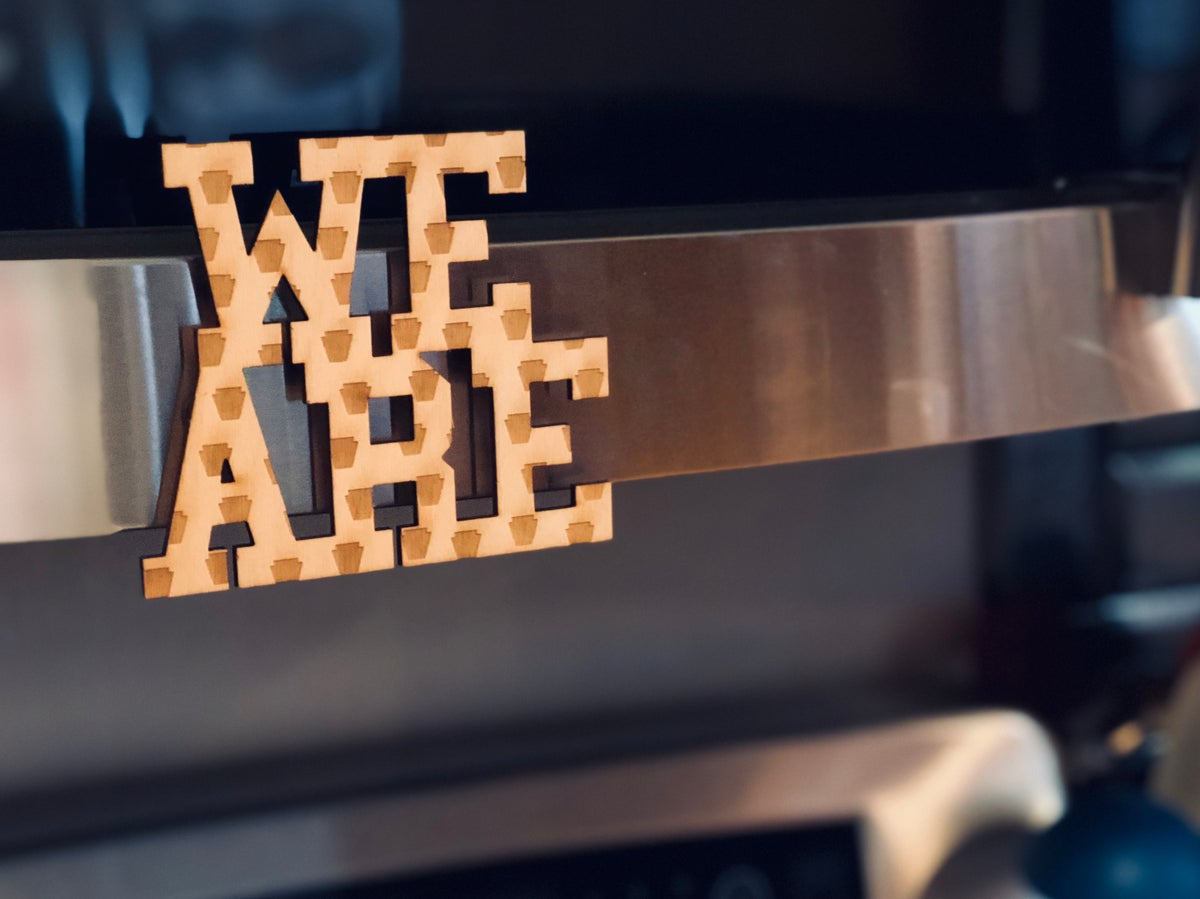 Image of We Are Keystone Woody Magnet