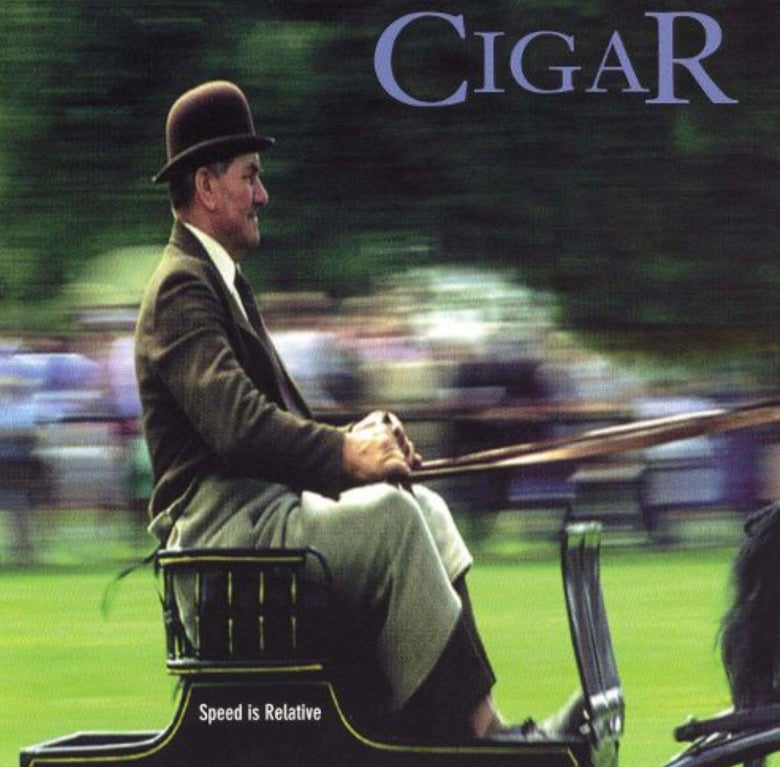 "Image of CIGAR ""Speed Is Relative"" LP"