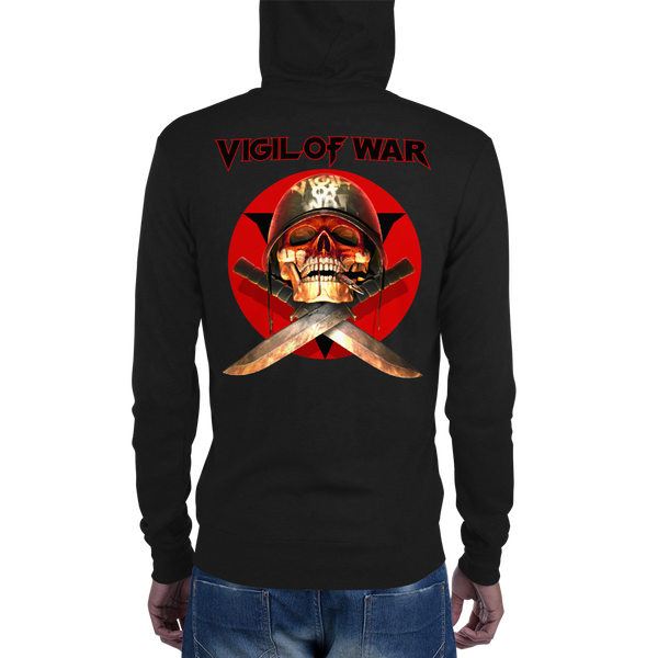Image of WARRIOR Zip Hoodie -FREE Shipping to USA and Europe!