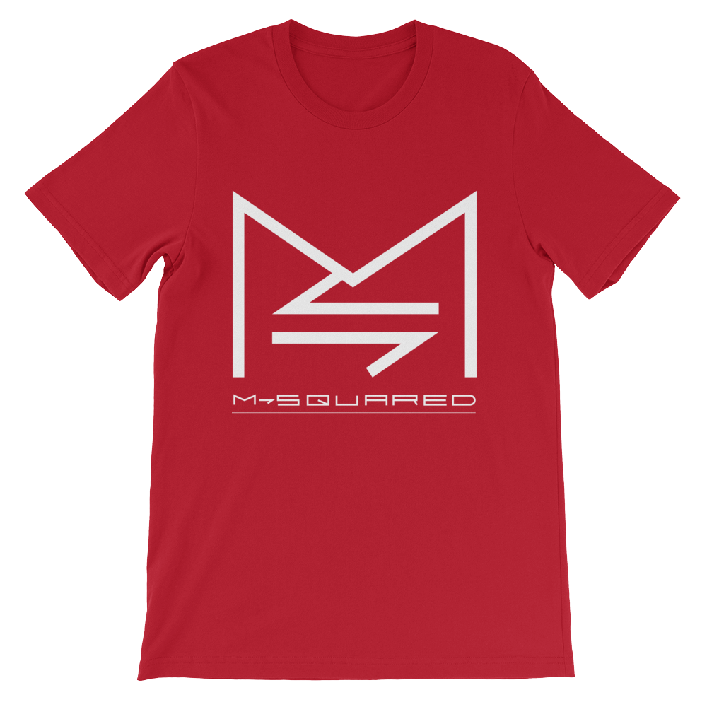 Image of M-SQUARED ICON T-SHIRT (RED)