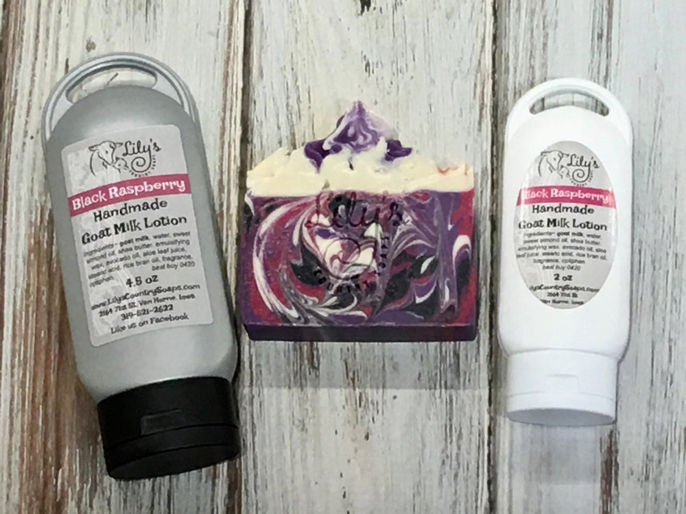 Image of Black Raspberry Goat Milk Lotion