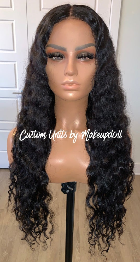"Image of RAW Indian Natural Wave 28"" Lace Closure Wig!"