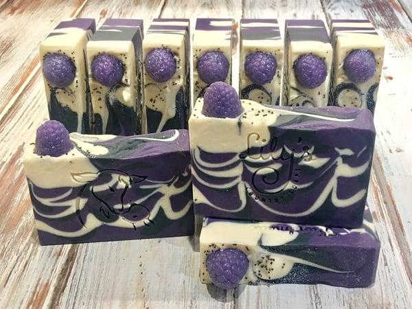 Image of Blackberry Goat Milk Soap