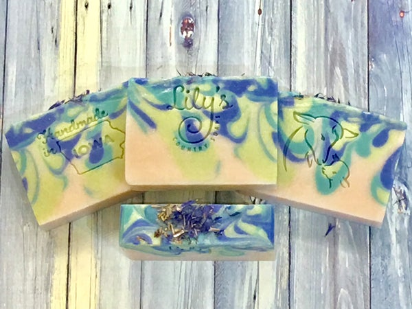Image of Rosemary Mint Goat Milk Soap