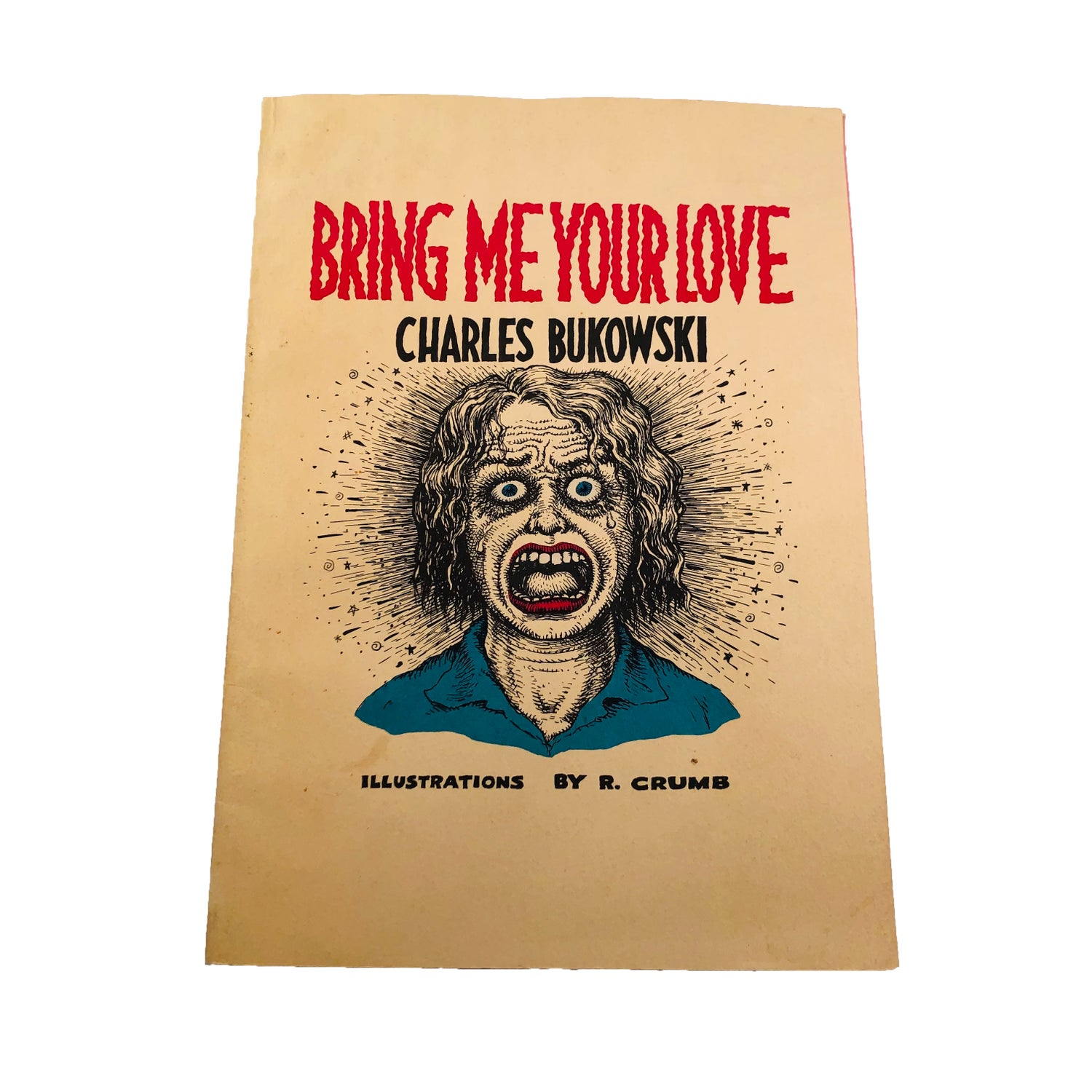 """Image of """"Bring Me Your Love"""" by Charles Bukowski (illustrations by Robert Crumb)"""