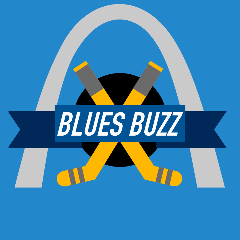 Image of Blues Buzz Sticker