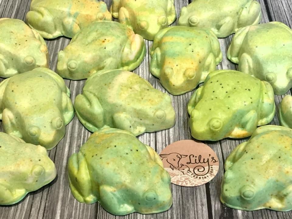 Image of Lime Rosemary Goat Milk Soap