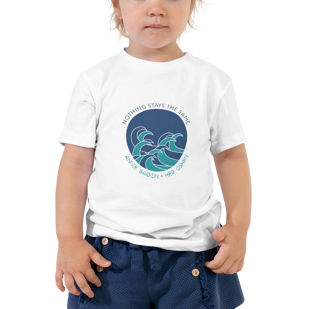 Image of Waves Toddler T-Shirt