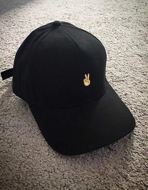 Image of Black Deuces Cap