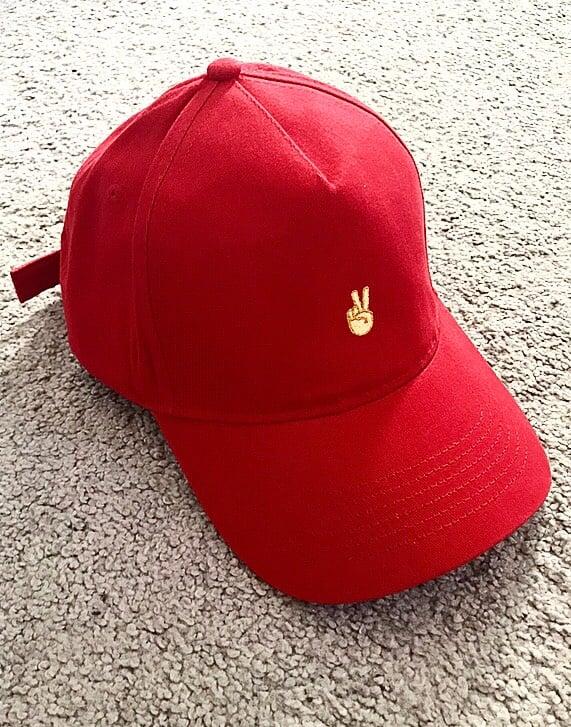 Image of Red Deuces Cap