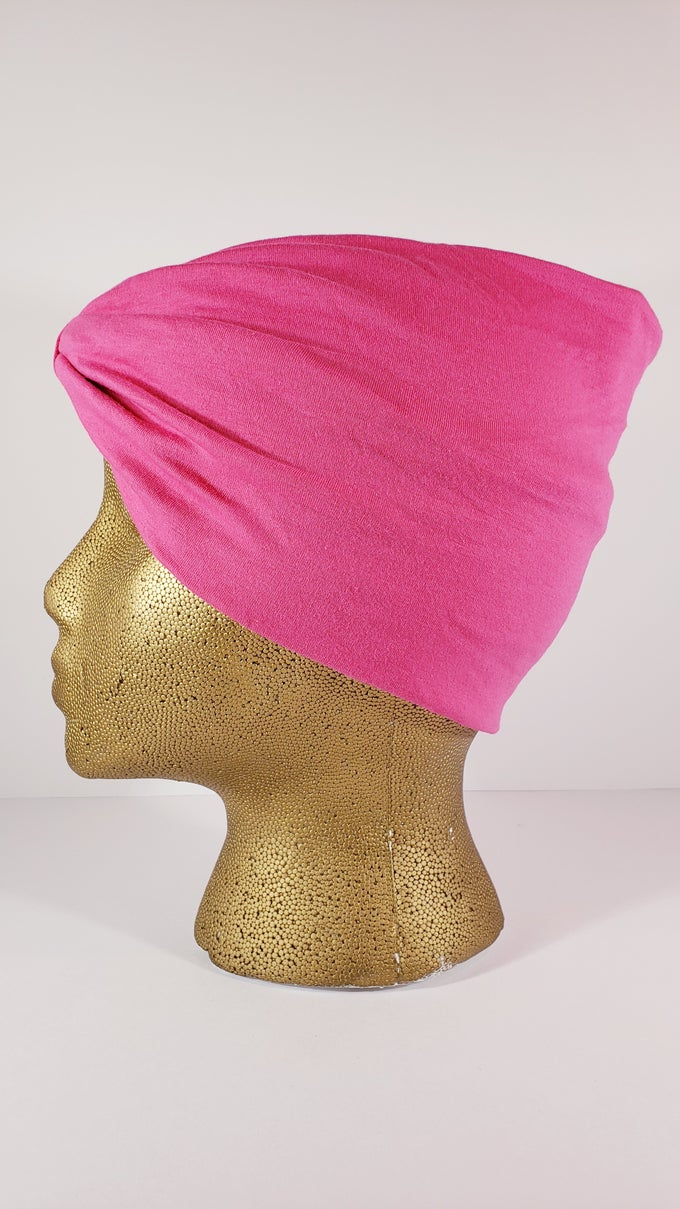 Image of Pink Hair Wrap