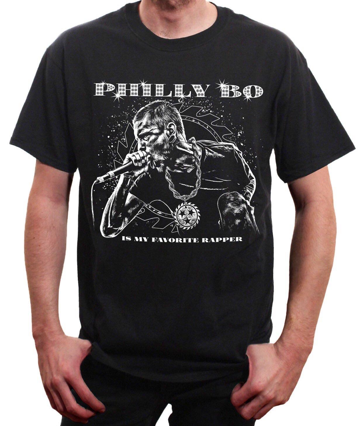 Image of PHIL BOZEMAN IS MY FAVORITE RAPPER T-SHIRT
