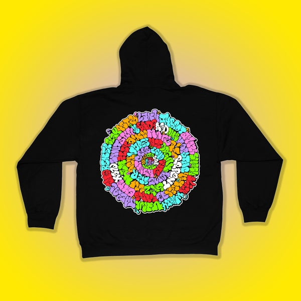 Image of Orbit Throwie Hoodie