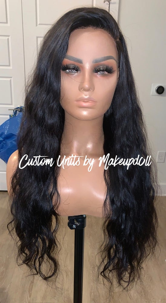 "Image of RAW Indian Natural Wave 24"" Lace Frontal Wig!"
