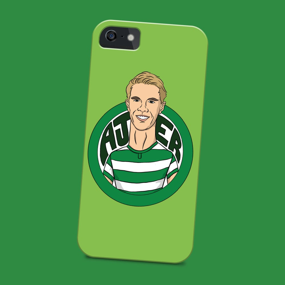 Image of Kristoffer Ajer phone case