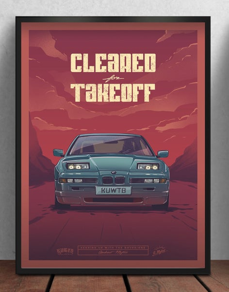 Image of Cleared For Takeoff Poster (PRE-ORDER)