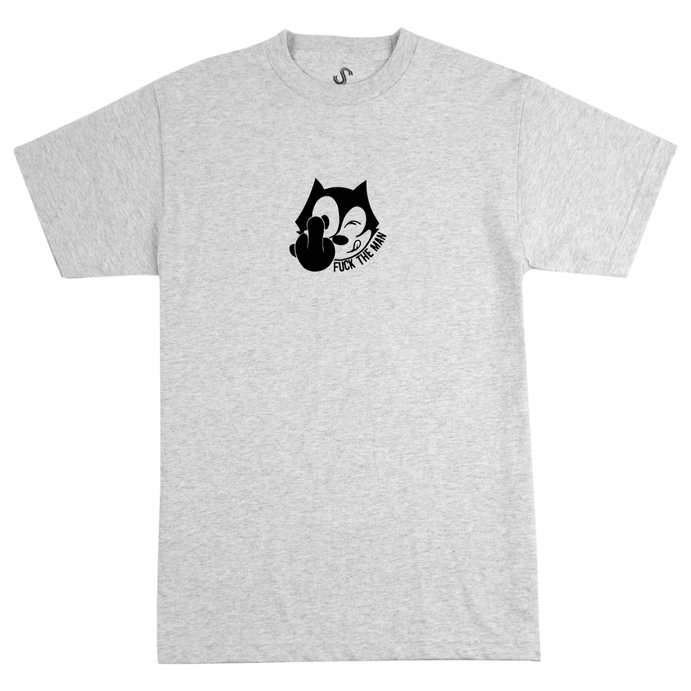 Image of FELIX THE MAN T SHIRT - ASH