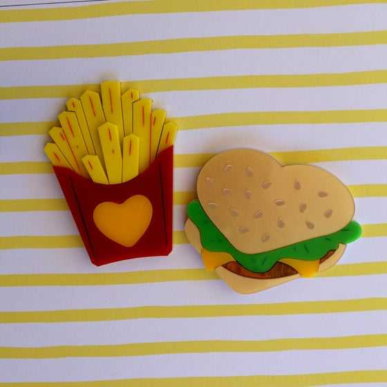 Image of Burger and Fries set - LIMITED