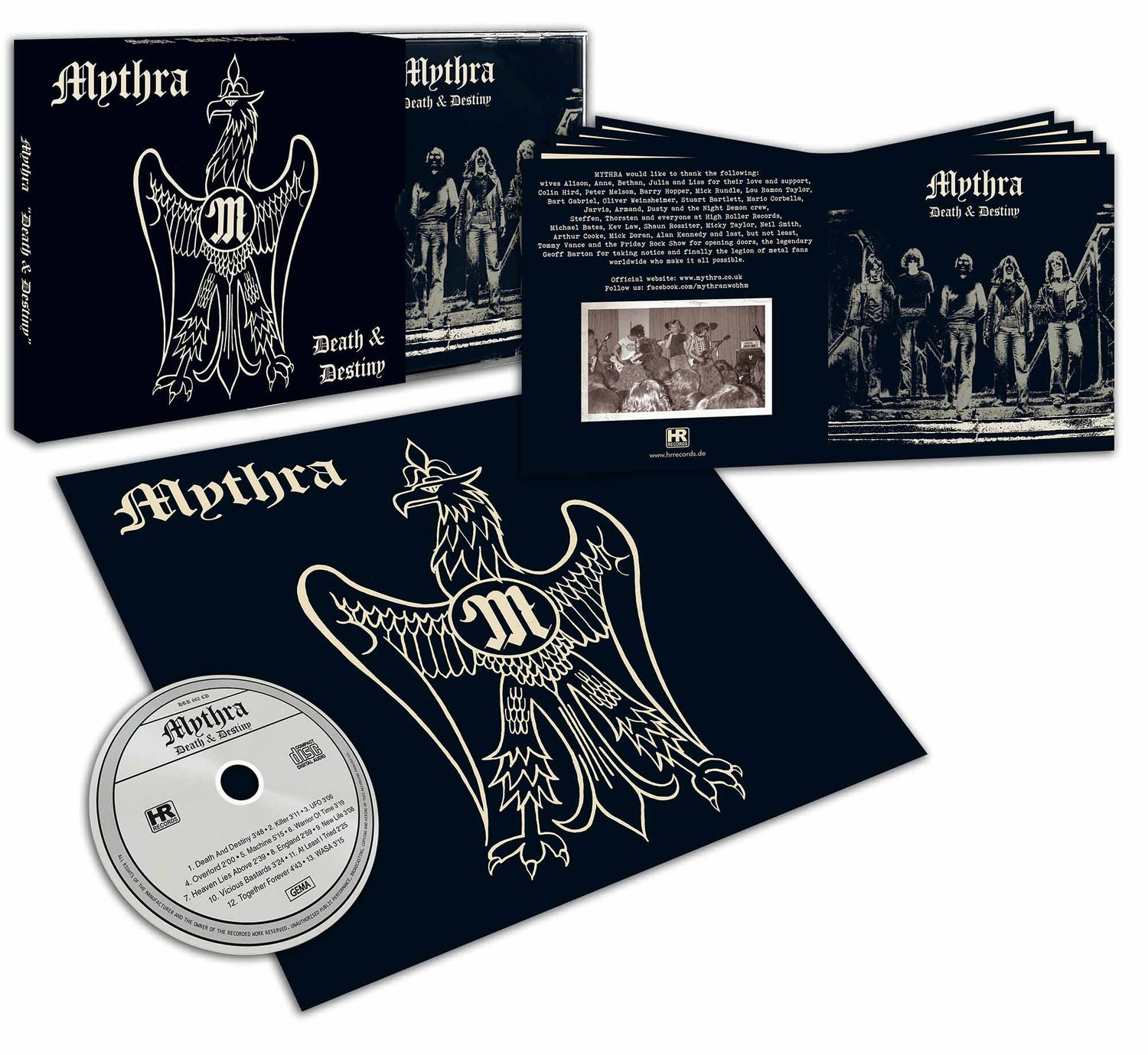 Image of Death and Destiny 40th Anniversary CD