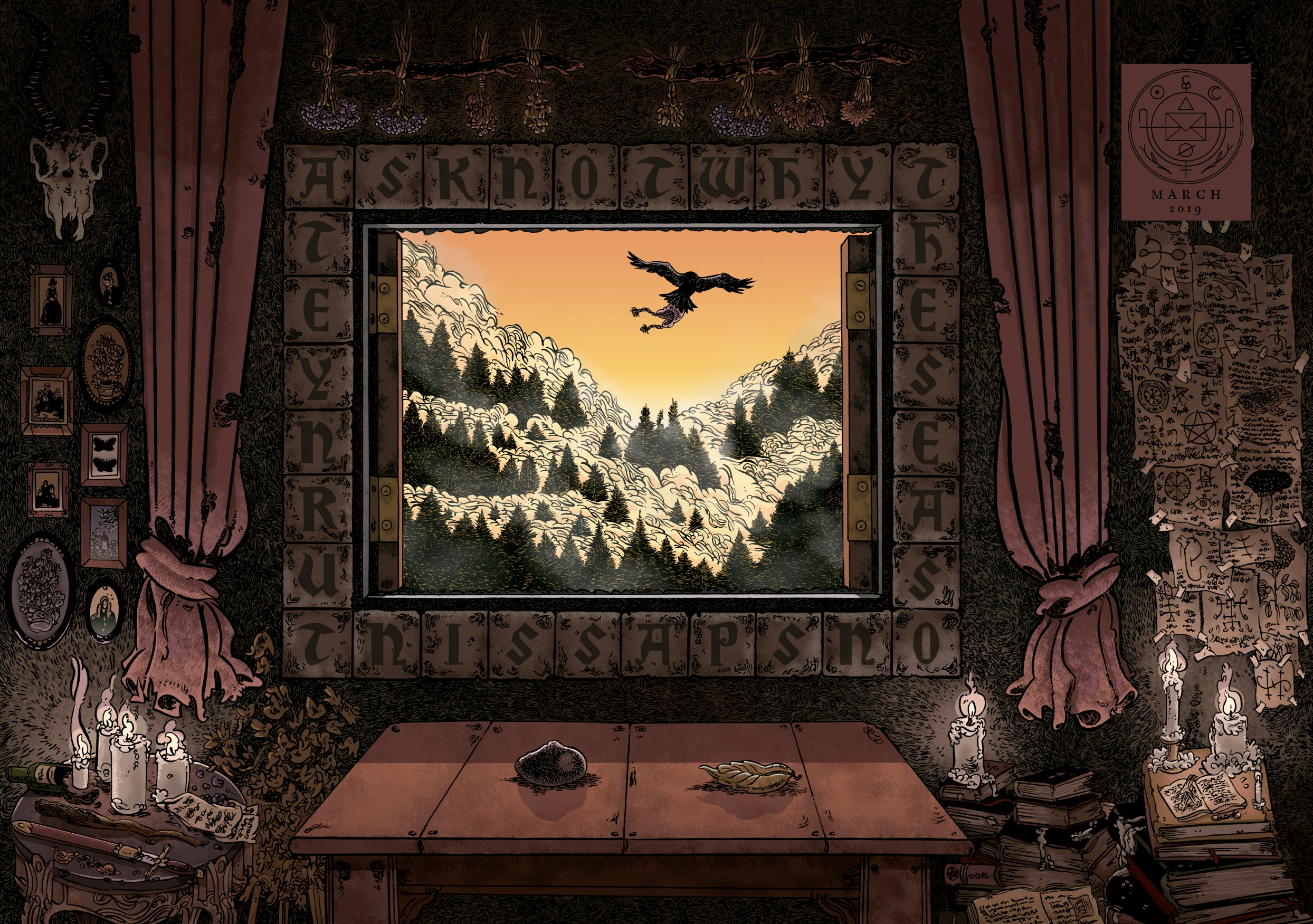 Otto and The Thief: The Stone Leaves: Cryptogram Puzzle Post 2.1 (T.O.S.) -  Cryptogram Puzzle Post