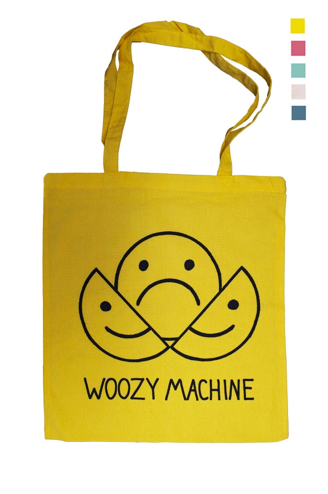 Image of WOOZY MACHINE TOTE BAG