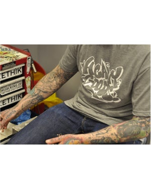 Image of Heavy Goods x Radio T-Shirt - Grey