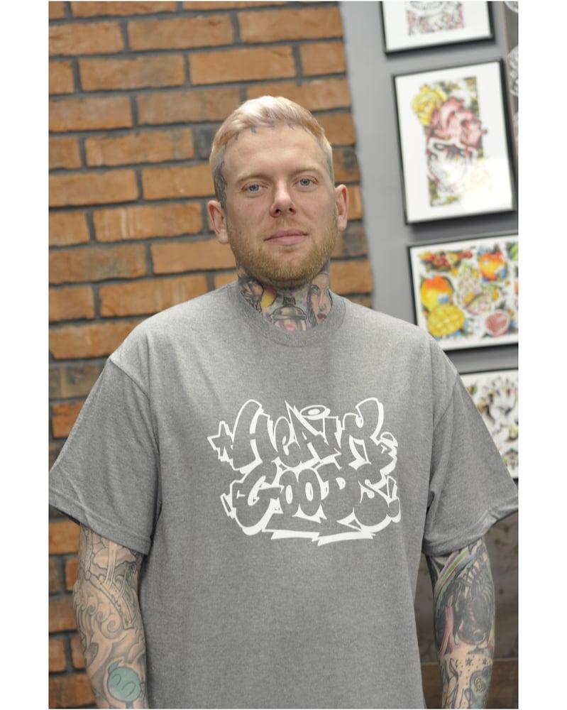 Image of Heavy Goods x Radio T-Shirt - Grey