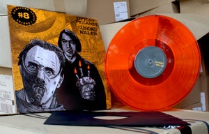 Image of Subsound Split Series # 08 Orange LP