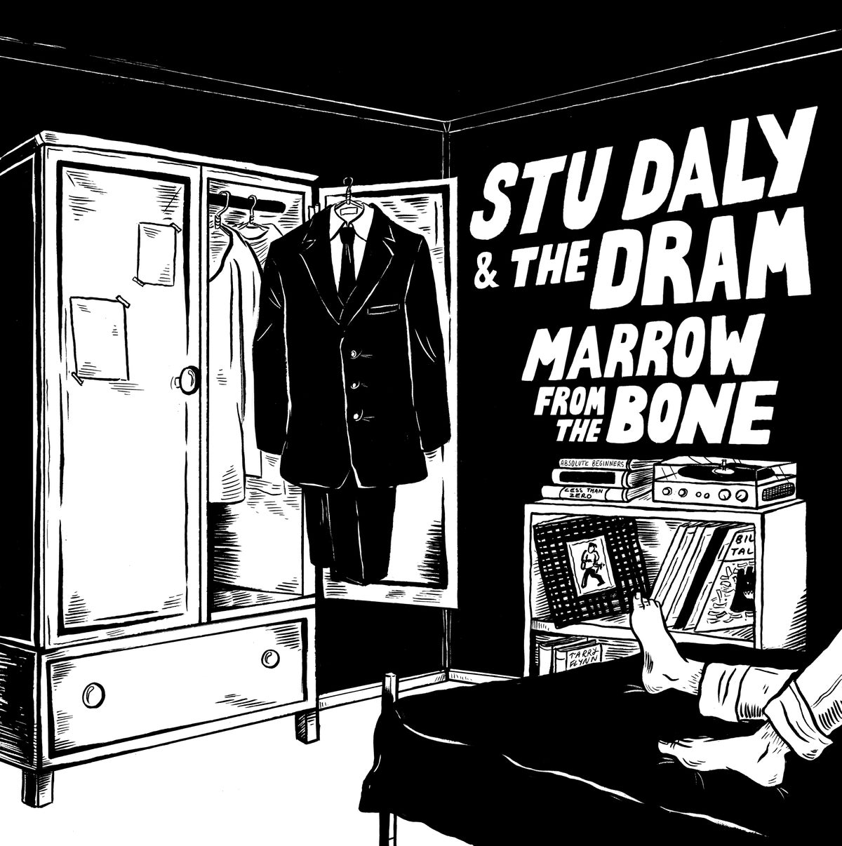 Image of Stu Daly & The Dram - Marrow from the Bone 7""