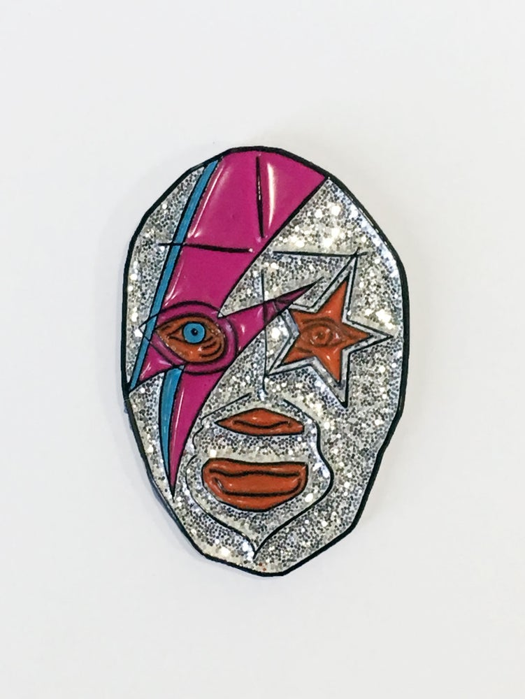 Image of Starman Pin