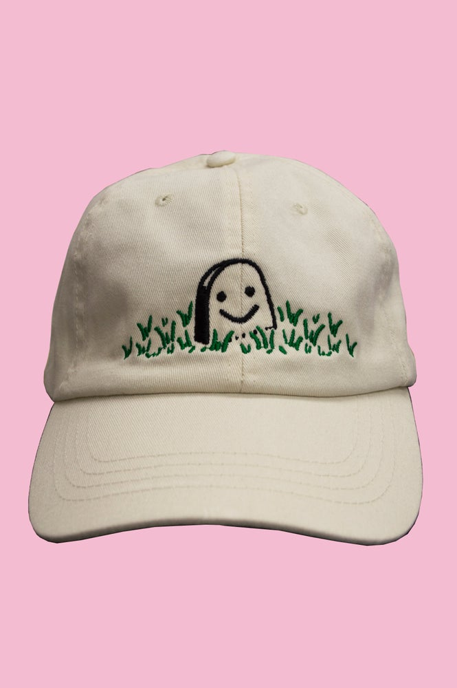 Image of HAPPY GRAVE EMBROIDERED CAP