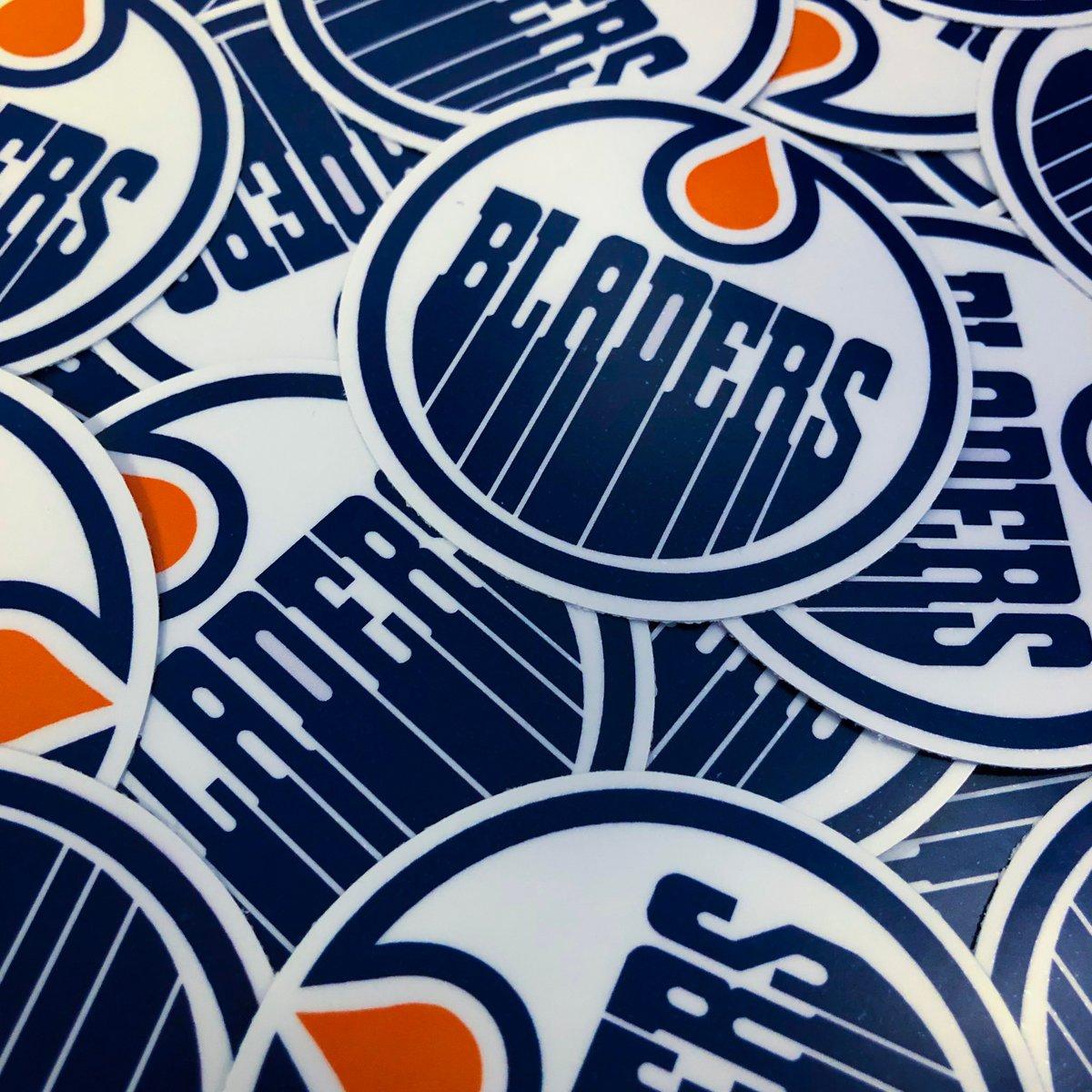 Image of Shredmonton Bladers Sticker Pack