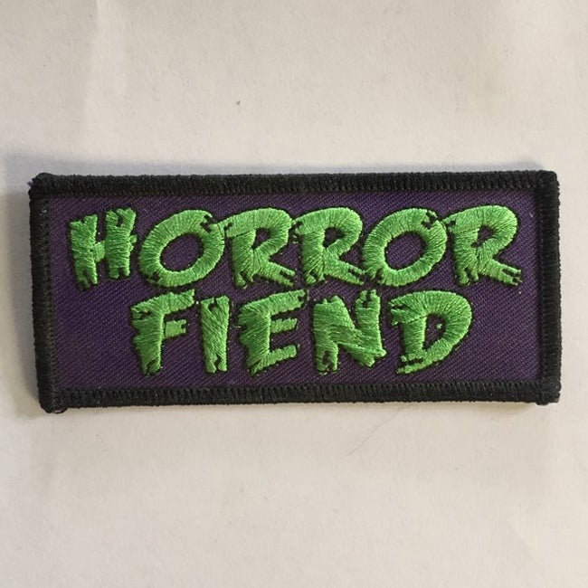 Image of Horror Fiend Iron On Patch